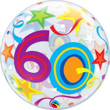 Image Pour Anniversaire 60 Ans.Ballon Bulle Anniversaire 60 Ans Poche De 1 Ballon
